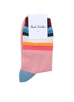 Chaussettes rose PAUL SMITH pour femme