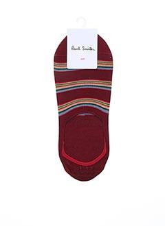 Chaussettes rouge PAUL SMITH pour homme