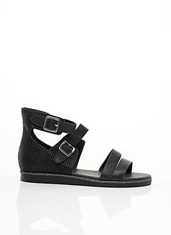Sandales/Nu pieds noir EMILIE KARSTON pour femme
