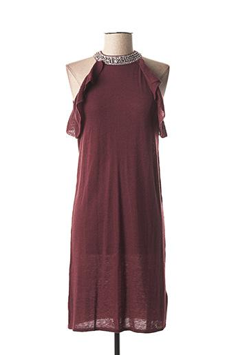 Robe mi-longue rouge GALLIANO pour femme
