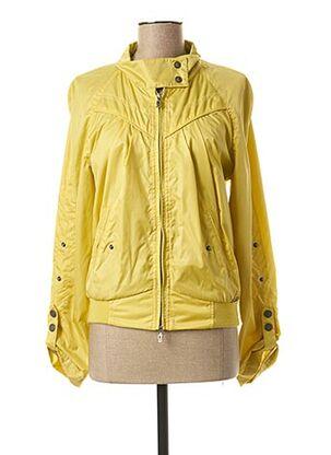 Coupe-vent jaune GALLIANO pour femme