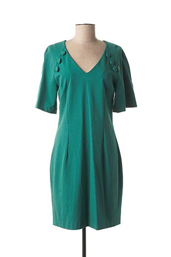 Robe mi-longue vert GALLIANO pour femme