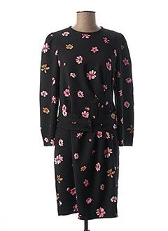Robe mi-longue noir MARELLA pour femme