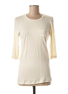 T-shirt manches longues beige MAXMARA pour femme