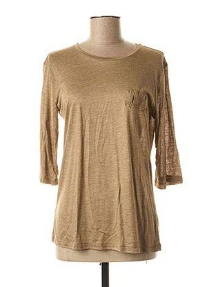 T-shirt manches longues marron MAXMARA pour femme