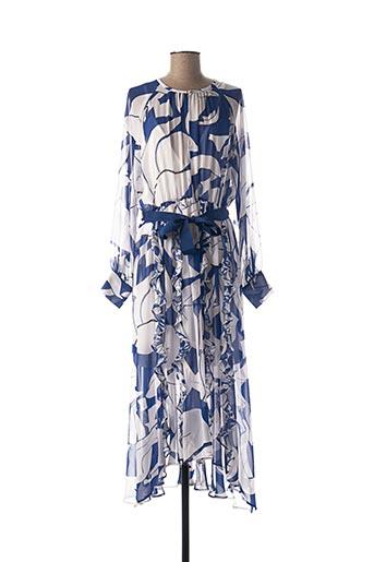 Robe longue bleu I BLUES pour femme