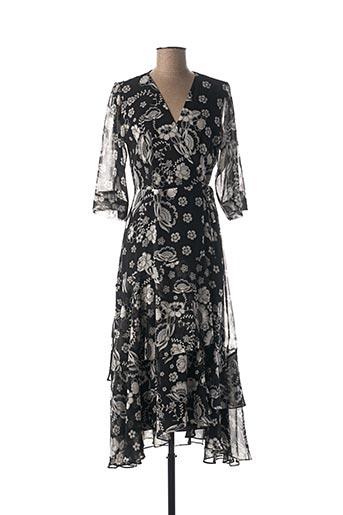 Robe longue noir MARELLA pour femme