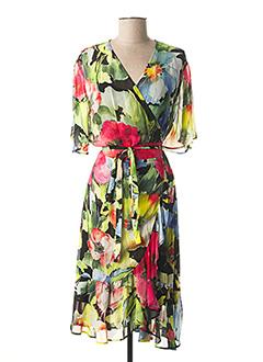 Robe mi-longue vert TWINSET pour femme
