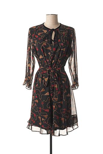 Robe courte noir MARELLA pour femme