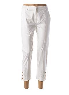 Pantalon 7/8 blanc MAXMARA pour femme
