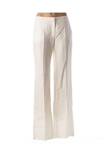 Pantalon chic blanc MAXMARA pour femme