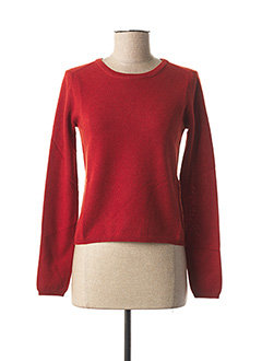 Pull col rond orange WEEKEND MAXMARA pour femme
