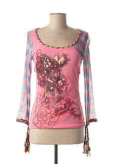 Top rose SAVE THE QUEEN pour femme