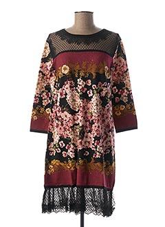 Robe mi-longue noir TWINSET pour femme