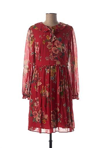 Robe mi-longue rouge TWINSET pour femme