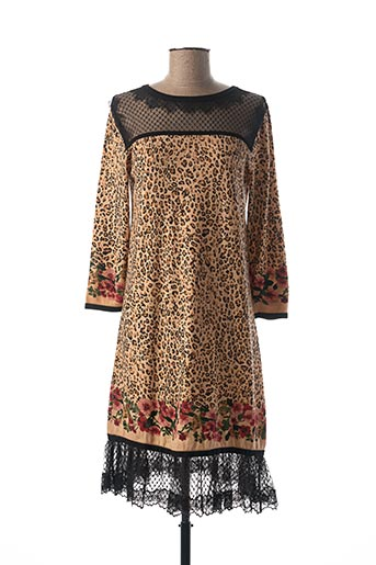 Robe pull beige TWINSET pour femme