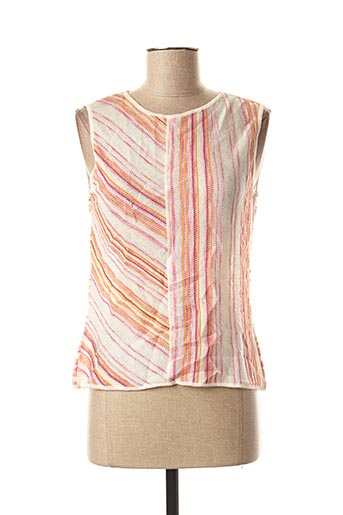 Pull col rond rose MISSONI pour femme