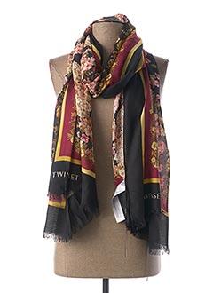 Foulard noir TWINSET pour femme