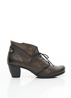 Bottines/Boots marron FLUCHOS pour femme