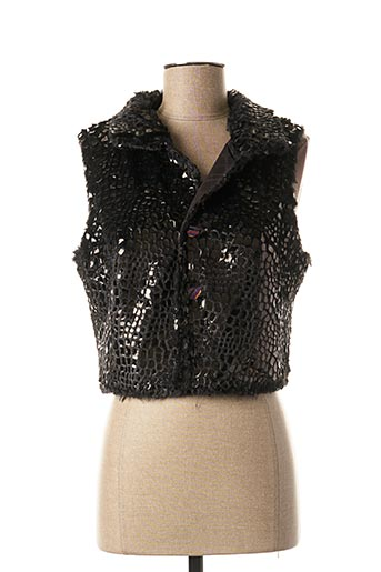 Veste chic / Blazer noir LO! LES FILLES pour femme