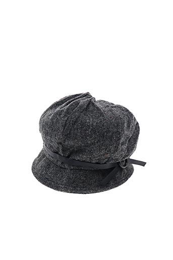 Chapeau noir VL COLLECTION pour femme