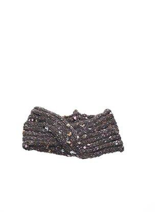Bonnet gris VL COLLECTION pour femme