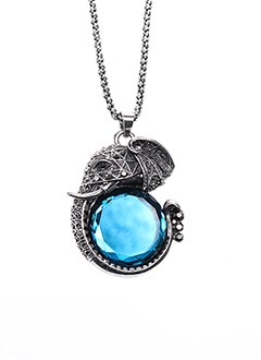 Collier bleu VL COLLECTION pour femme