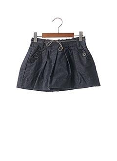 Jupe mi-longue bleu JEAN BOURGET pour fille