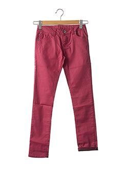 Pantalon casual rose GARCIA pour fille