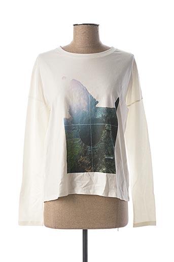 T-shirt manches longues blanc CHIPIE pour fille