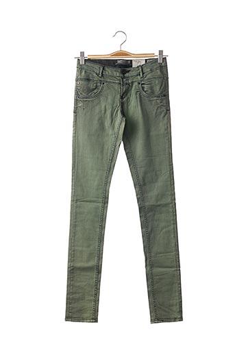 Pantalon casual vert GARCIA pour fille