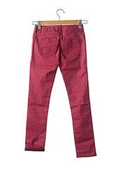 Pantalon casual rose GARCIA pour fille seconde vue