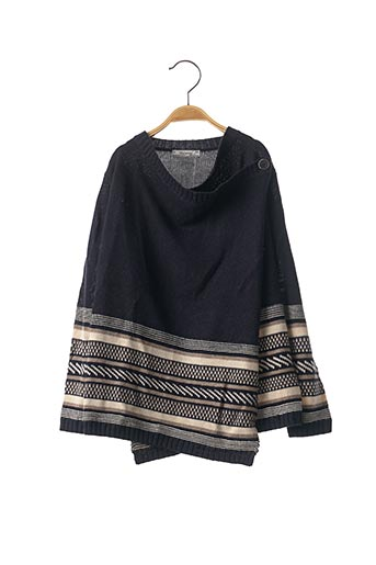 Pull col rond bleu MAYORAL pour fille