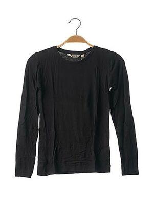 T-shirt manches longues noir GARCIA pour fille