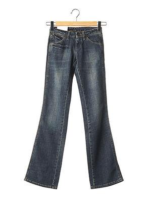 Jeans bootcut bleu WRANGLER pour femme