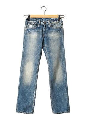 Jeans coupe droite bleu LE TEMPS DES CERISES pour garçon