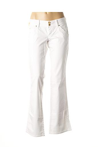Pantalon casual blanc GUESS pour femme