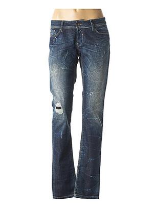 Jeans coupe slim bleu SALSA pour femme