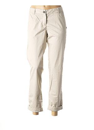 Pantalon 7/8 beige MAISON SCOTCH pour femme