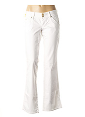 Pantalon casual blanc GUESS pour femme seconde vue