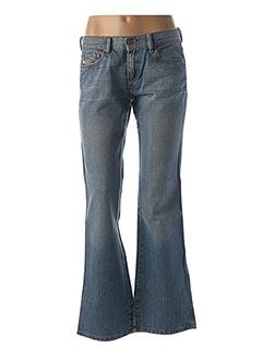 Jeans coupe large bleu DIESEL pour femme