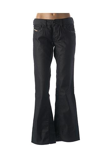 Jeans coupe large noir DIESEL pour femme