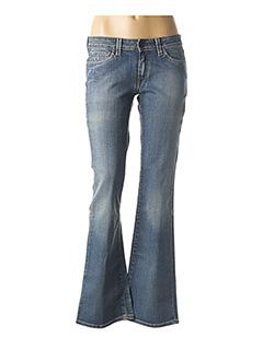 Jeans coupe large bleu CHEFDEVILLE pour femme
