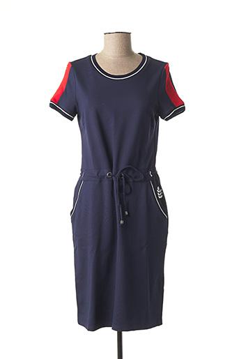 Robe mi-longue bleu BETTY BARCLAY pour femme