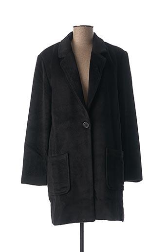 Manteau long noir LOLA ESPELETA pour femme