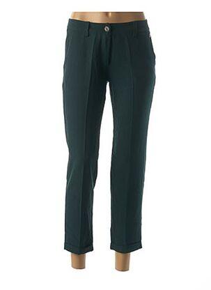 Pantalon chic vert PAKO LITTO pour femme