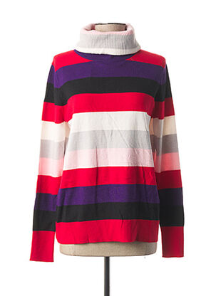 Pull col roulé rouge STREET ONE pour femme