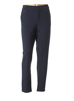 Pantalon 7/8 bleu STREET ONE pour femme