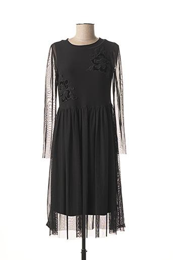 Robe mi-longue noir VOODOO pour femme