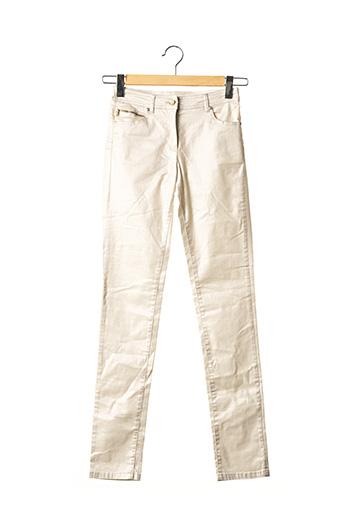 Pantalon casual beige VOODOO pour femme